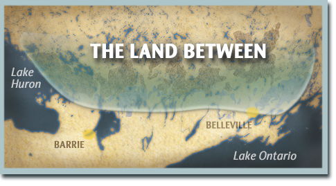 The Land Between Map